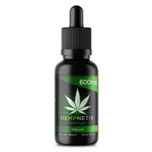 600mg Co2Extracted CBD Oil Tincture 60ml